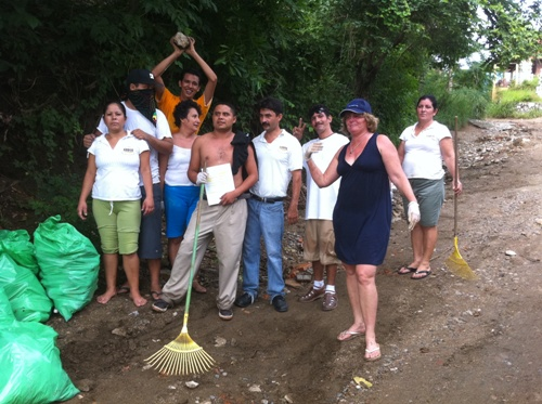 Sayulita Beach Clean Up! 008